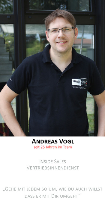 Andreas Vogl | Backoffice