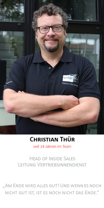 Christian Thür | Leitung Vertriebsinnendienst