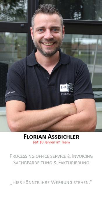 Florian Aßbichler | Auftragserfassung/Fakturierung