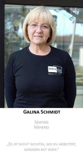 Galina Schmidt | Produktion