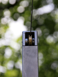 9 | SHADE | Seilauslass beim Spannelement