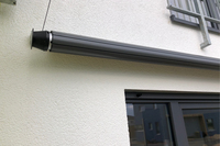 21 | SHADE | rollbares Schutzdach eingerollt