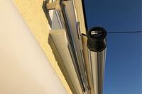 23 | SHADE | rollbares Schutzdach eingerollt