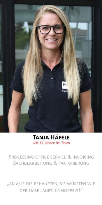Tanja Häfele | Auftragserfassung/Fakturierung