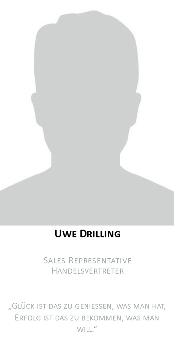 Uwe Drilling | Außendienst